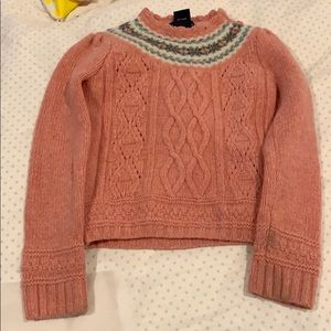 Ralph Lauren sweater.